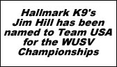Hallmark K9 has just been named as an Official Sponsor of USCA!
